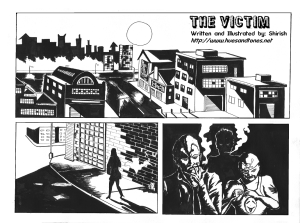 The Victim - A Motion Comic